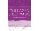 Skin Academy Sheet Masks  Collagen, 2 Sheets, Kangasmask vananemisvastane Q10 kollageeniga 2tk