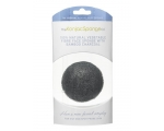 THE KONJAC SPONGE PREMIUM FACIAL PUFF WITH BAMBOO CHARCOAL