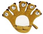 Titania Bath Glove Bear, Pesemiskinnas lastele - karu
