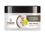 Vegan Desserts Niisutav ja taastav mask kookose ja mandliõlidega 250ml