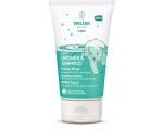 Weleda Laste šampoon-dušikreem Rohemünt