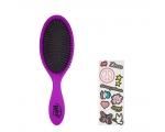 Wetbrush Detangler With Stickers Peace. Disaini endale ise juuksehari! - Juuksehari veekindlate kleebistega