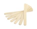 Ühekordne puidust spaatel vaha kandmiseks nahale.