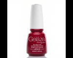 China Glaze Gelaze  Red Pearl 9,76ml , Gel and Base in one