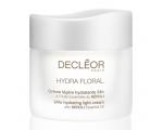 Decleor Hydra Floral Moisturizing Light Cream, 24h kerge niisutuskreem