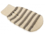 Bath glove, microfibre,
